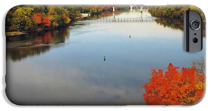 Mississippi IPhone 6s Case featuring the photograph Mississippi River by Kathy Schumann