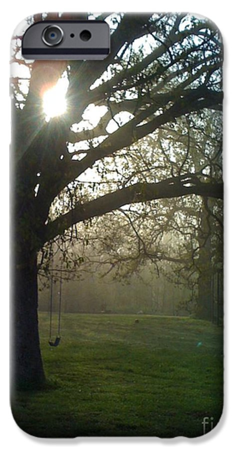 Mist IPhone 6s Case featuring the photograph Misty Morning by Nadine Rippelmeyer