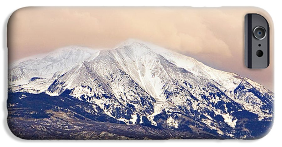 Americana IPhone 6s Case featuring the photograph Mount Sopris by Marilyn Hunt