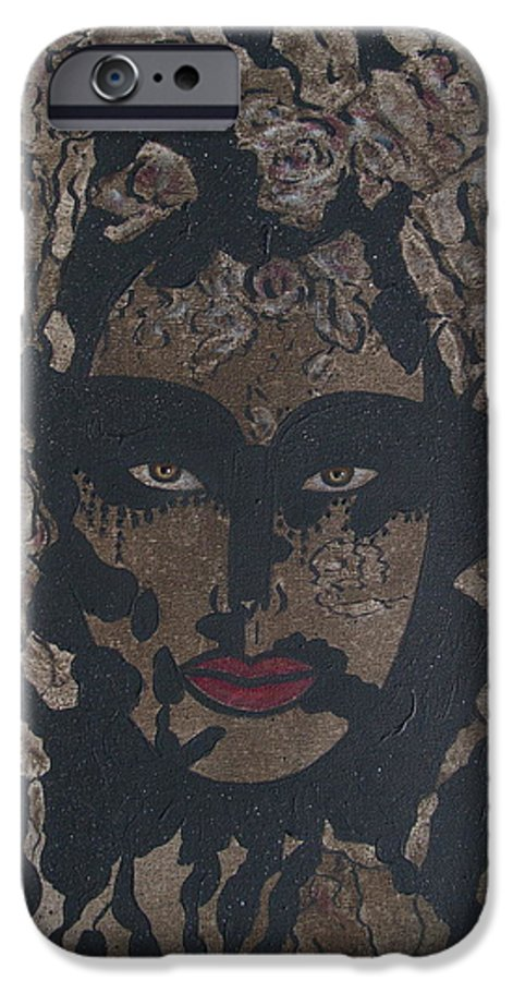 Figurative IPhone 6s Case featuring the painting Mysterious Desire by Natalie Holland