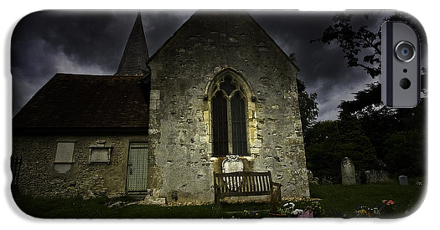 Church IPhone 6s Case featuring the photograph Norman Church At Lissing Hampshire England by Sheila Smart Fine Art Photography