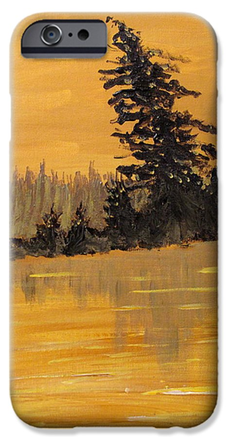 Northern Ontario IPhone 6s Case featuring the painting Northern Ontario Three by Ian MacDonald