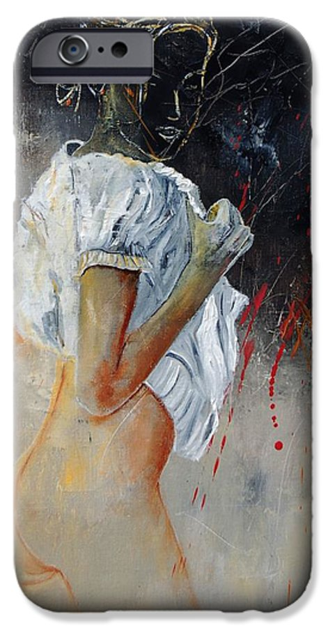Nude IPhone 6s Case featuring the painting Nude 560508 by Pol Ledent