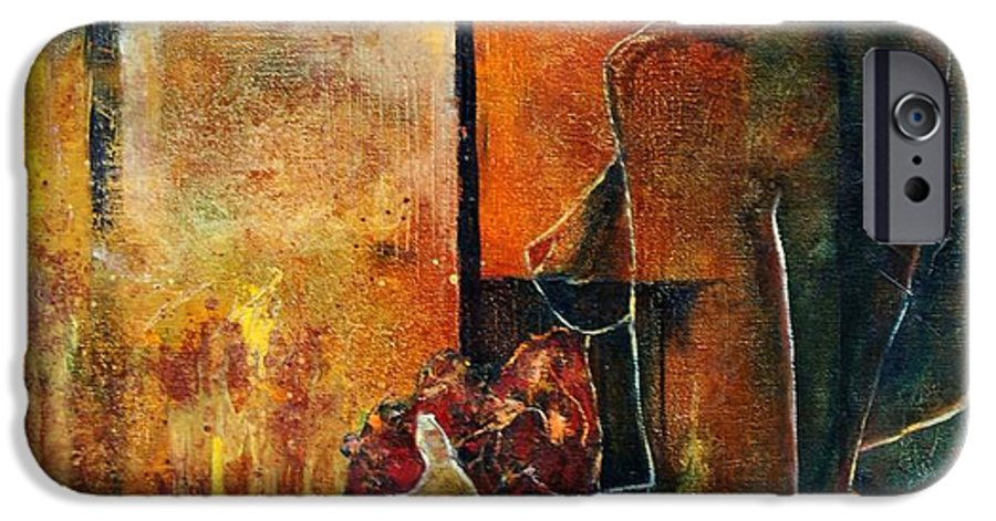 Woman Girl Fashion Nude IPhone 6s Case featuring the painting Nude by Pol Ledent