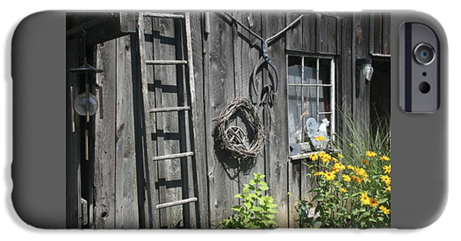 Barn IPhone 6s Case featuring the photograph Old Barn II by Margie Wildblood