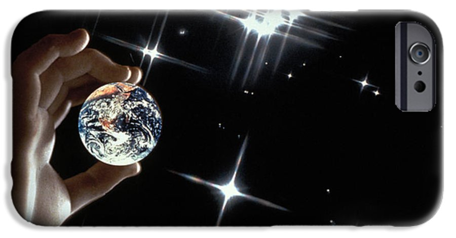Stars IPhone 6s Case featuring the photograph Our Precious Planet by Carl Purcell
