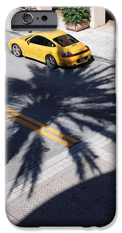 Porsche IPhone 6s Case featuring the photograph Palm Porsche by Rob Hans