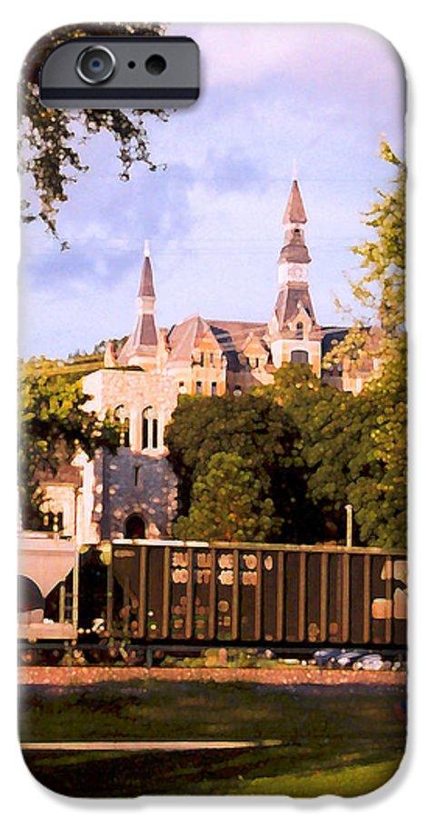 Landscape IPhone 6s Case featuring the photograph Park University by Steve Karol