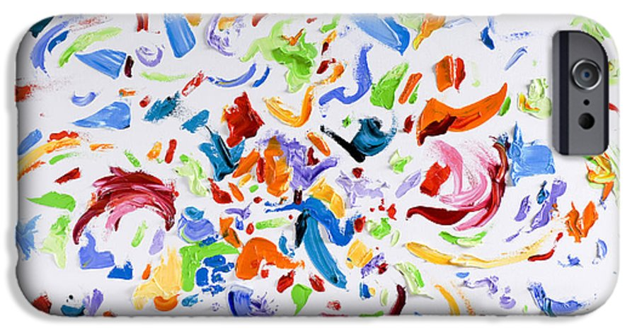 Red IPhone 6s Case featuring the painting Party by Shannon Grissom