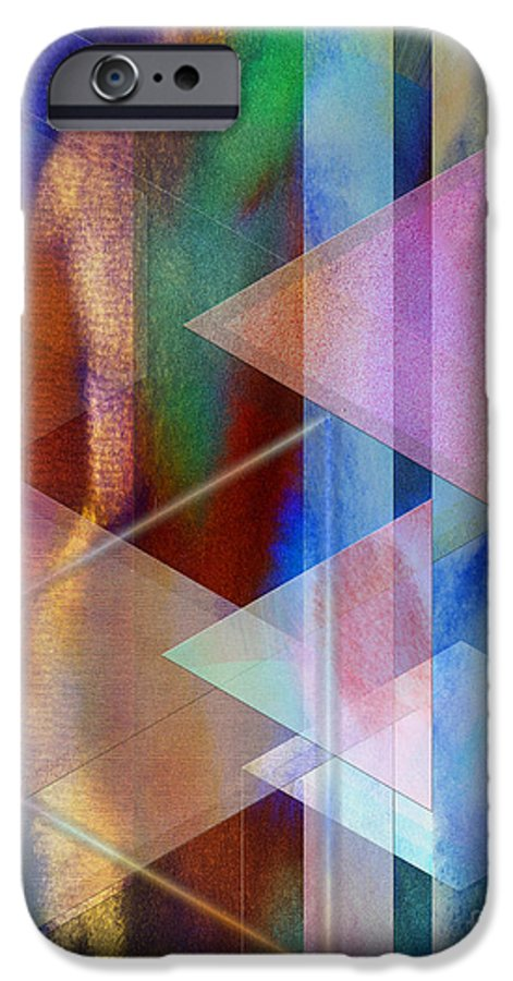 Pastoral Midnight IPhone 6s Case featuring the digital art Pastoral Midnight by John Beck