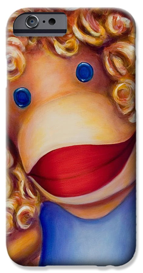 Children IPhone 6s Case featuring the painting Patricia by Shannon Grissom