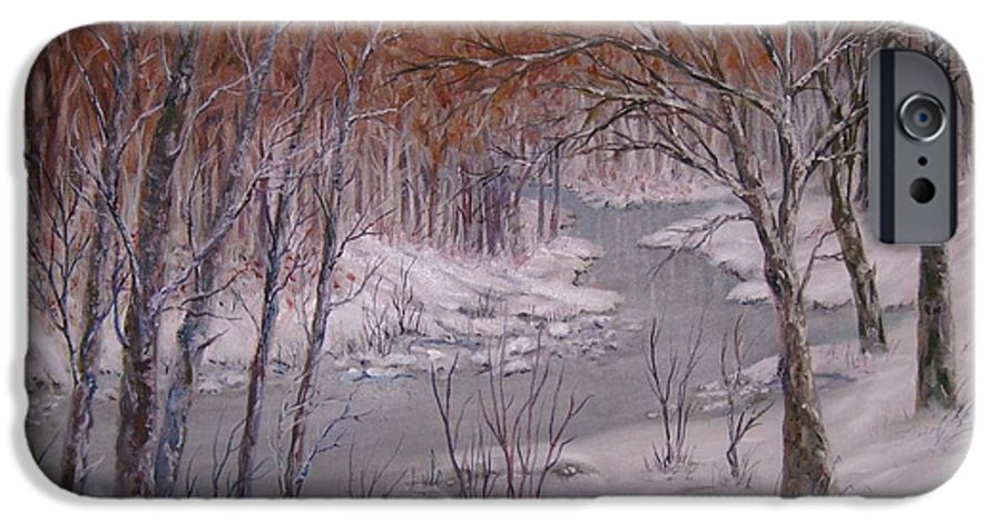 Peace Project IPhone 6s Case featuring the painting Peace And Quiet by Ben Kiger