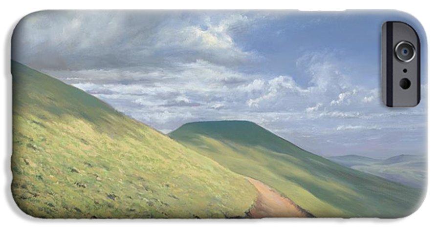 Pen Y Fan IPhone 6s Case featuring the painting Pen Y Fan by Richard Picton