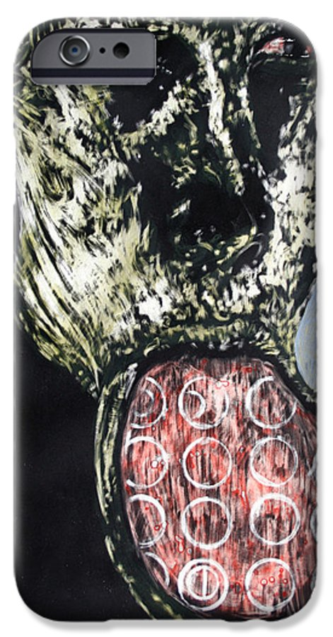 Portrait IPhone 6s Case featuring the mixed media Persephone by Chester Elmore
