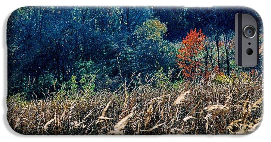 Landscape IPhone 6s Case featuring the photograph Prairie Edge by Steve Karol