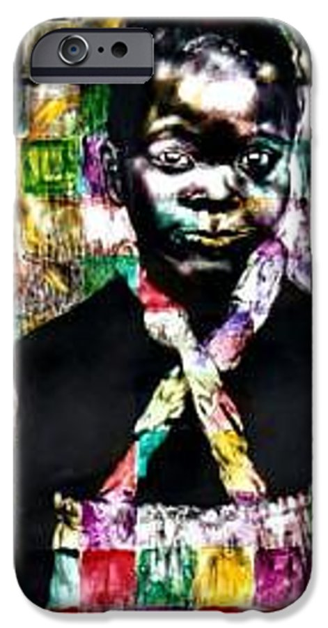 Portrait IPhone 6s Case featuring the mixed media Precious by Chester Elmore
