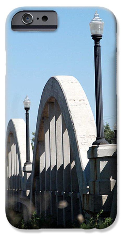 Landscape IPhone 6s Case featuring the photograph Rainbow Bridge by Margaret Fortunato