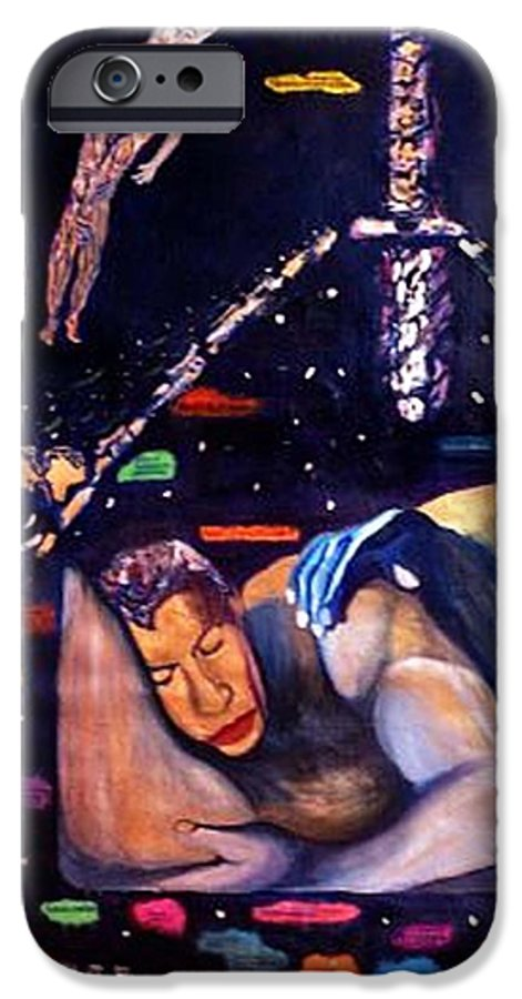 Nudes IPhone 6s Case featuring the painting Realities Which Will Be Artifacts by Stephen Mead