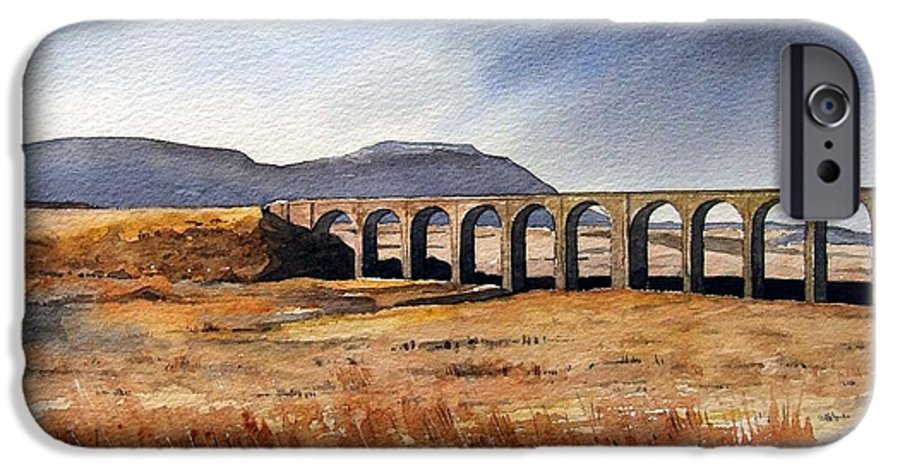 Landscape IPhone 6s Case featuring the painting Ribblehead Viaduct by Paul Dene Marlor