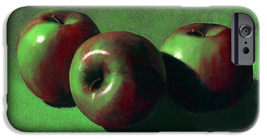 Still Life IPhone 6s Case featuring the painting Ripe Apples by Frank Wilson