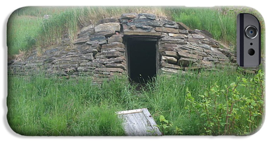 Photograph Cellar Old Green Newfoundland IPhone 6s Case featuring the photograph Root Cellar by Seon-Jeong Kim