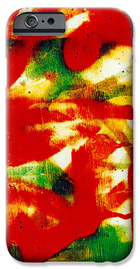 Abstract IPhone 6s Case featuring the photograph Salsa by David Rivas
