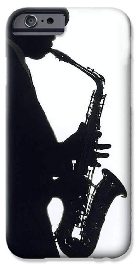 Sax IPhone 6s Case featuring the photograph Sax 2 by Tony Cordoza