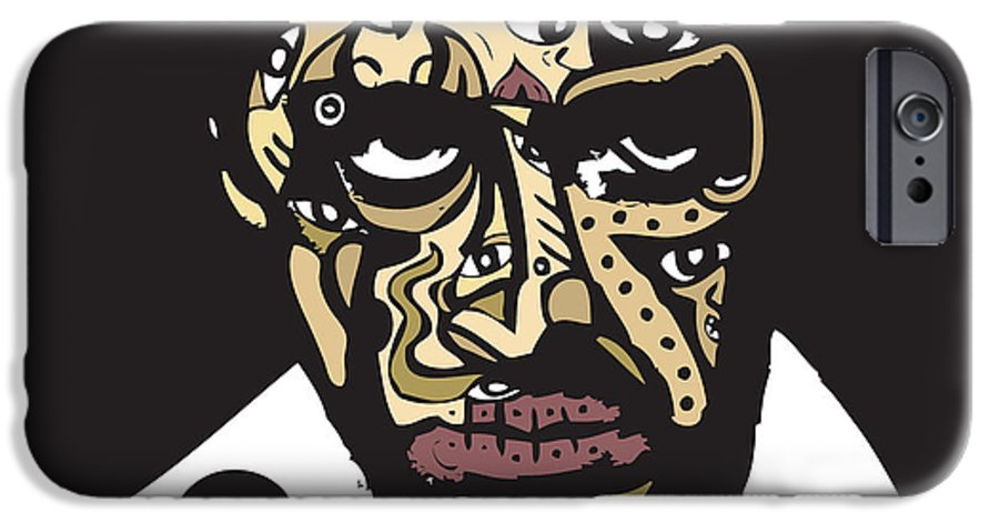 Scarface IPhone 6s Case featuring the digital art Scarface by Kamoni Khem