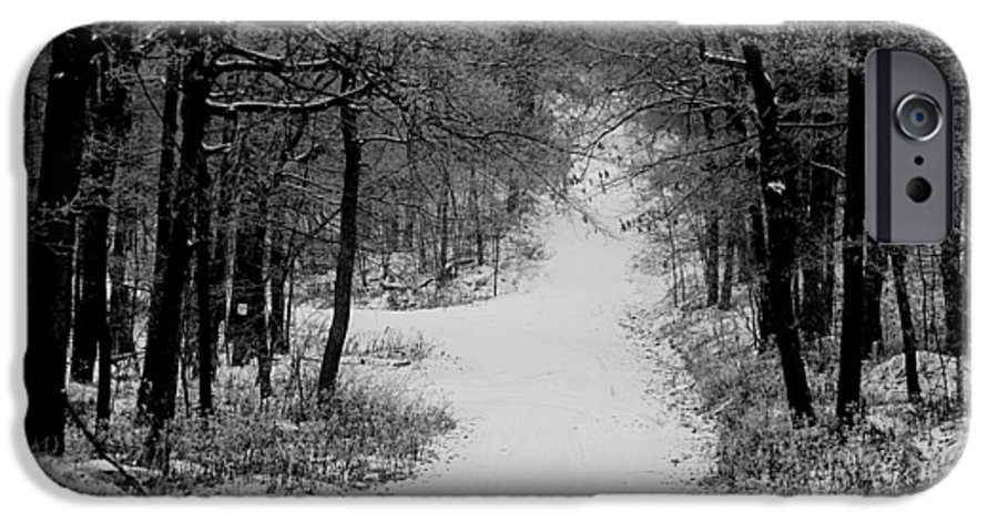 Snow IPhone 6s Case featuring the photograph See Where It Leads. by Jean Macaluso