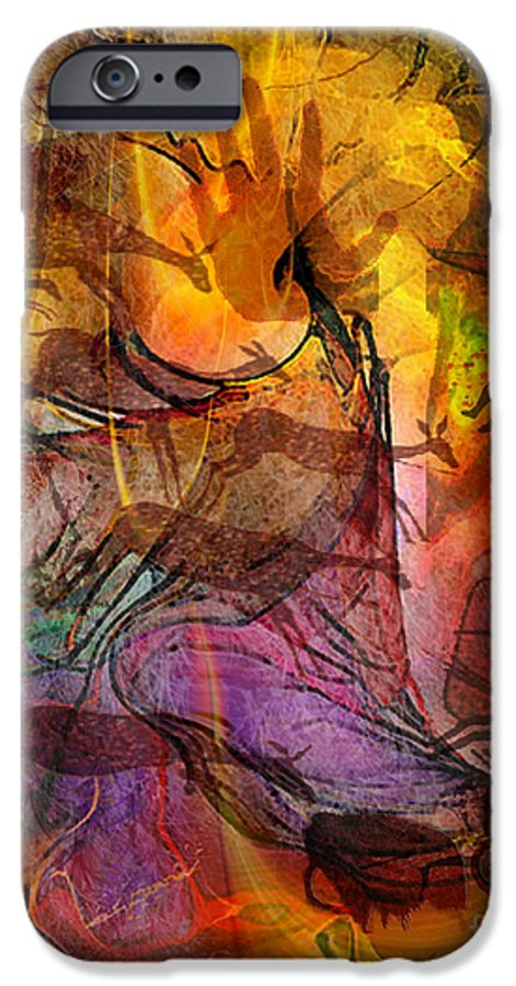 Shadow Hunters IPhone 6s Case featuring the digital art Shadow Hunters by John Beck