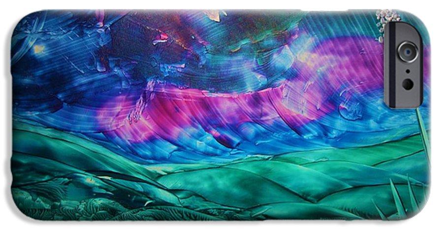 Desert IPhone 6s Case featuring the print Sierra Vista by Melinda Etzold