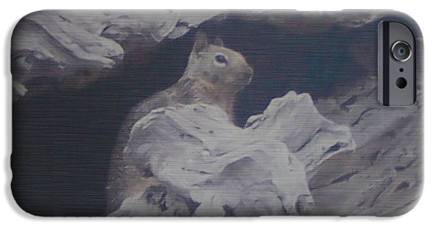 Squirrel IPhone 6s Case featuring the photograph Silent Observer by Pharris Art