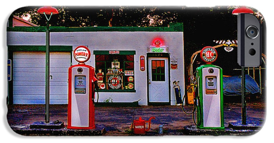 Gas Station IPhone 6s Case featuring the photograph Sinclair by Steve Karol