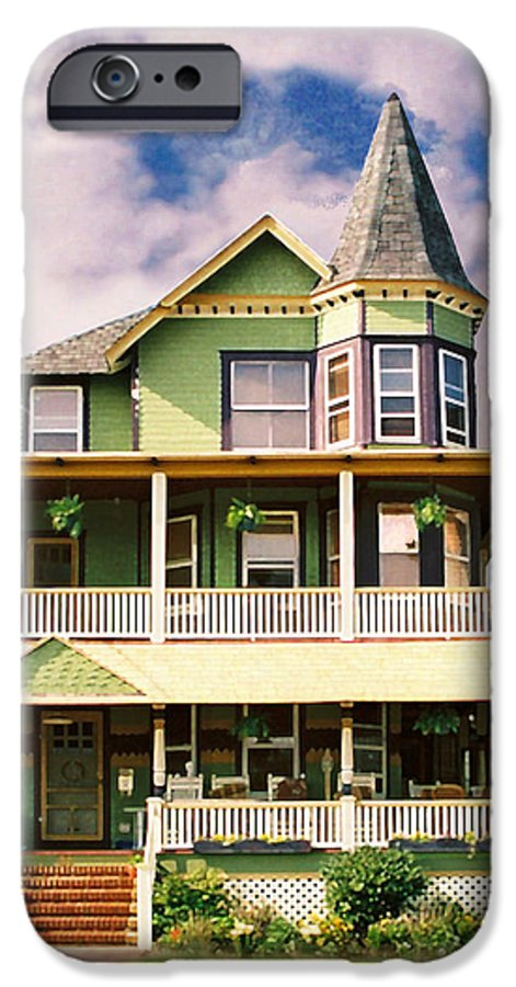 Archtiecture IPhone 6s Case featuring the photograph Sisters Panel 1 Of Triptych by Steve Karol