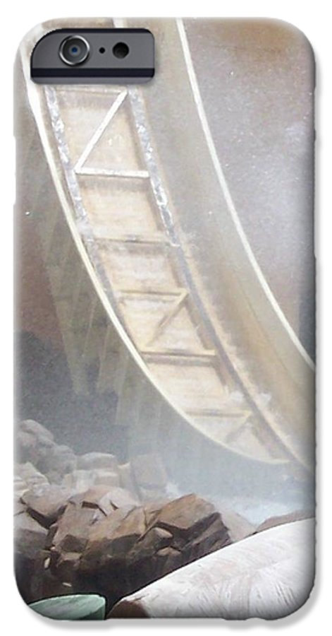 Slide IPhone 6s Case featuring the photograph Slide Splash by Pharris Art