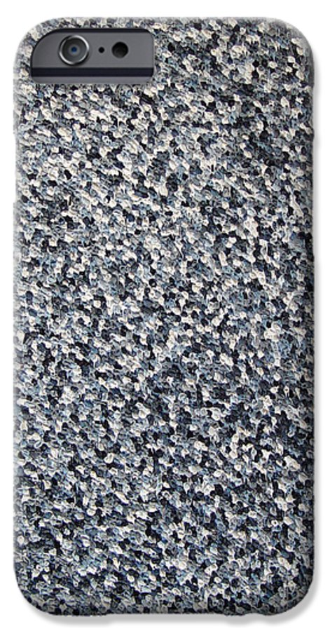 Abstract IPhone 6s Case featuring the painting Soft Grey Scale by Dean Triolo