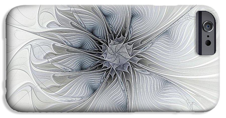 Digital Art IPhone 6s Case featuring the digital art Something Blue by Amanda Moore