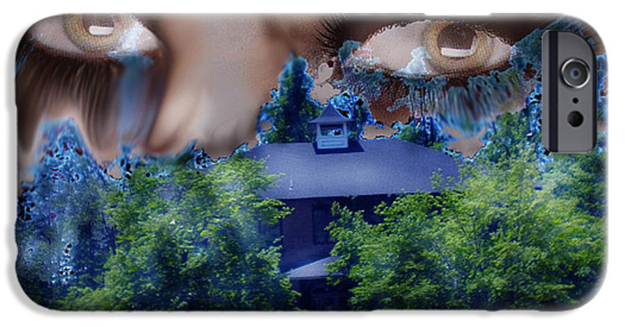 Strange House IPhone 6s Case featuring the digital art Something To Watch Over Me by Seth Weaver