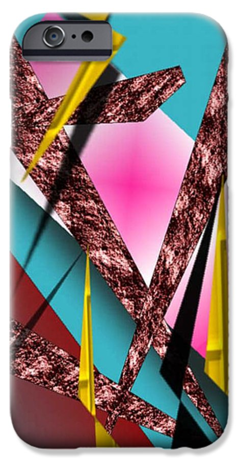 Abstracts IPhone 6s Case featuring the digital art Structure by Brenda L Spencer