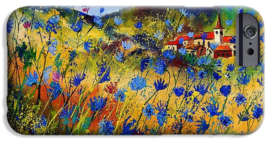 Flowers IPhone 6s Case featuring the painting Summer Glory by Pol Ledent