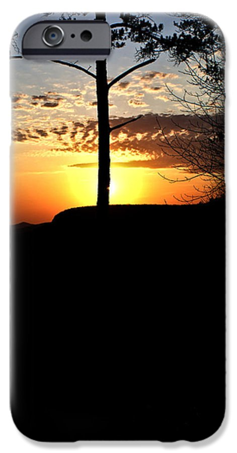 Sunburst IPhone 6s Case featuring the photograph Sunburst Sunset by Douglas Barnett
