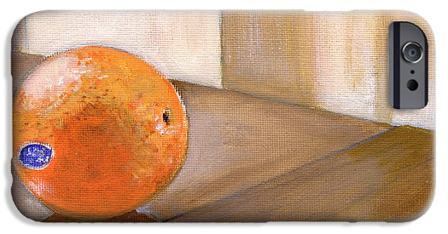 Food IPhone 6s Case featuring the painting Sunkist by Sarah Lynch