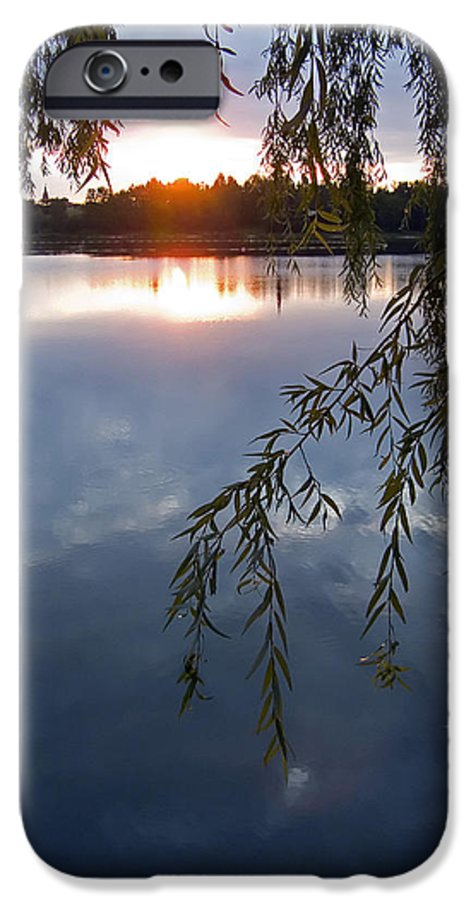 Nature IPhone 6s Case featuring the photograph Sunset by Daniel Csoka