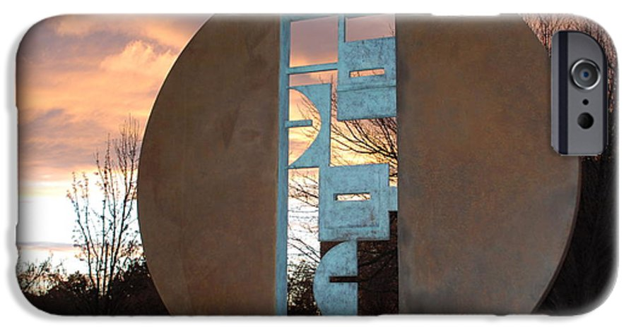 Pop Art IPhone 6s Case featuring the photograph Sunset Thru Art by Rob Hans