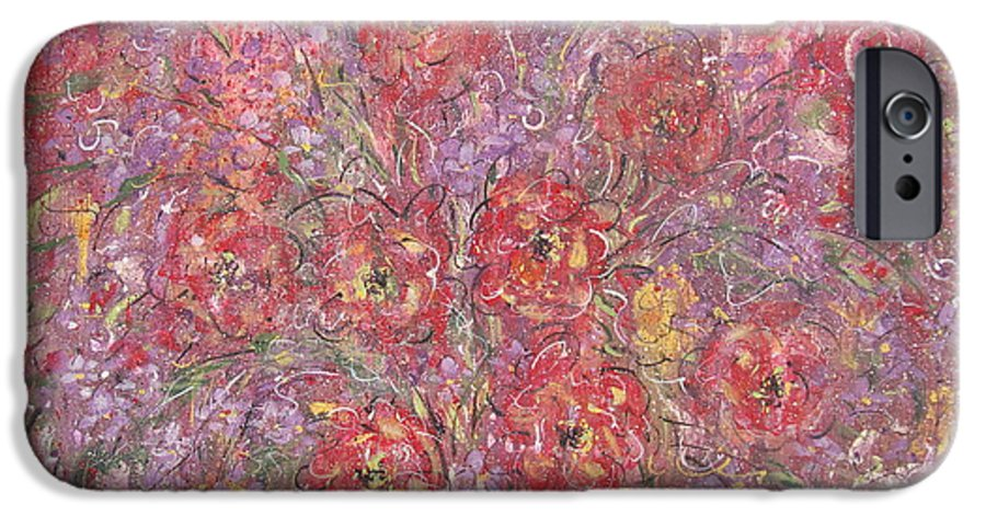 Still Life IPhone 6s Case featuring the painting Sweet Memories by Natalie Holland