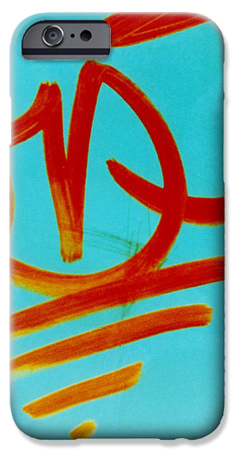 Abstract IPhone 6s Case featuring the photograph Symbols by David Rivas