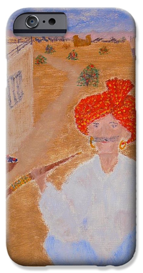 People IPhone 6s Case featuring the painting Tau by R B
