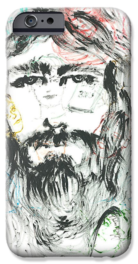 Jesus IPhone 6s Case featuring the painting The Emotions Of Jesus by Nadine Rippelmeyer