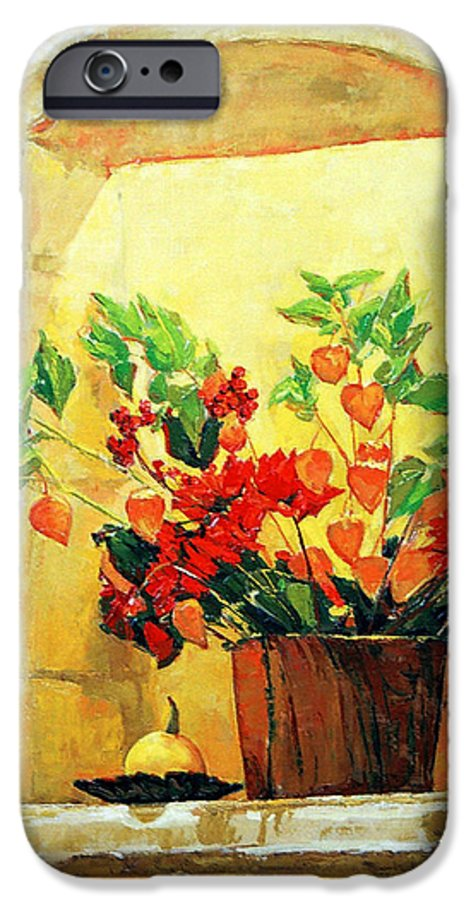 Still Life IPhone 6s Case featuring the painting The Light by Iliyan Bozhanov
