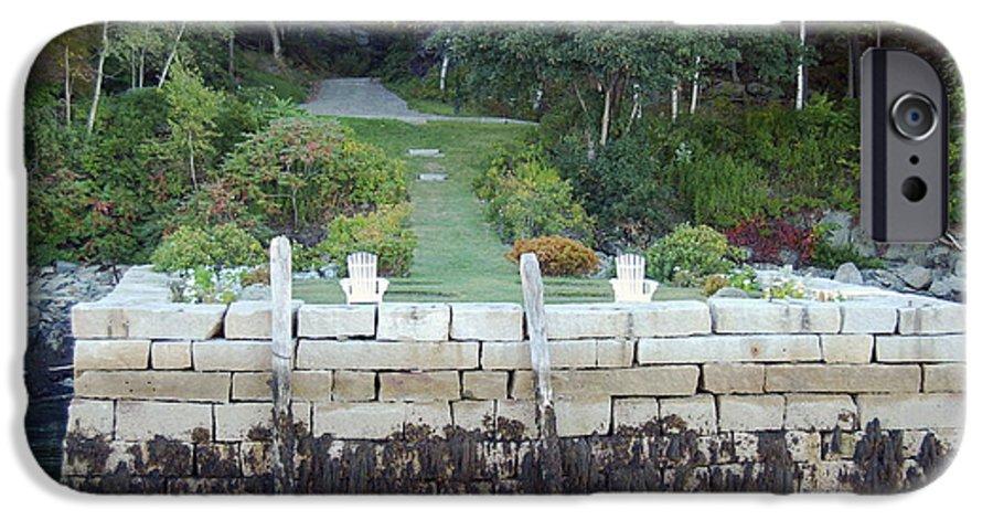 Granite IPhone 6s Case featuring the photograph The Moon Garden by Faith Harron Boudreau
